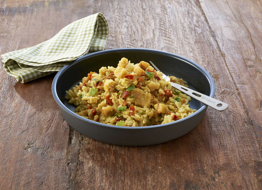Mediterranean Fish Stew with Rice